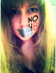 Victoria Bondar - Uploaded by NOH8 Campaign for iPhone