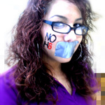 Kiara Avila - 10.20.10 Wear purple to stand up against anti-LGBT bullying , in memory of the 6 LGBT teens that took their own lives due to bullying and harrassment . NoH8*