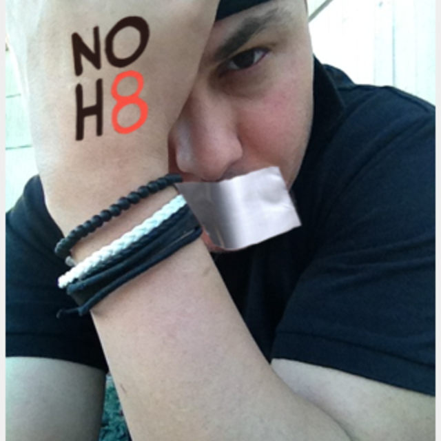 Junnyor  Torres - Uploaded by NOH8 Campaign for iPhone