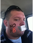Cory Zeller - Uploaded by NOH8 Campaign for iPhone