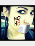 Aimee  green  - Uploaded by NOH8 Campaign for iPhone