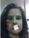 Molly Basten - Uploaded by NOH8 Campaign for iPhone