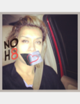 Patricia  Delarosa  - Uploaded by NOH8 Campaign for iPhone