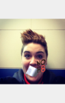Hannah Sherman - Uploaded by NOH8 Campaign for iPhone