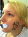 Amanda Hayslett - Uploaded by NOH8 Campaign for iPhone