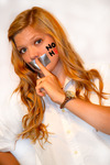 Justin Jones - my teammate Abi Brown supporting me with my photography to support the NOH8 Campaign!!