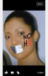Yanna Moore - Uploaded by NOH8 Campaign for iPhone