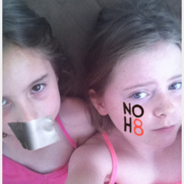 Tatum Duval - Uploaded by NOH8 Campaign for iPhone