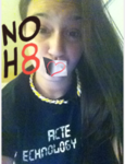 Bri H - Uploaded by NOH8 Campaign for iPhone