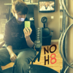 Alexis Neidlinger  - Uploaded by NOH8 Campaign for iPhone