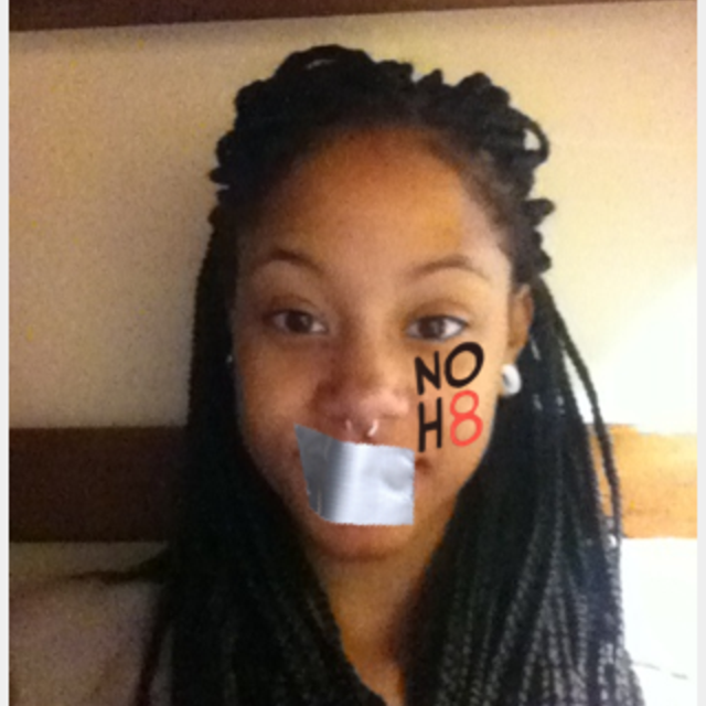 Briana Henderson - Uploaded by NOH8 Campaign for iPhone