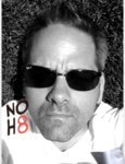 Michael  Ellis - Uploaded by NOH8 Campaign for iPhone