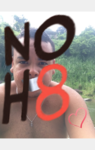 Gian Carlos Velazquez  - Uploaded by NOH8 Campaign for iPhone
