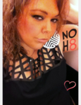 Vanessa Birchfield - Uploaded by NOH8 Campaign for iPhone