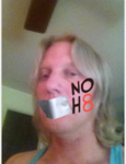 Amanda  Schwanholt  - Uploaded by NOH8 Campaign for iPhone