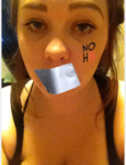 Mandy Meikle - Uploaded by NOH8 Campaign for iPhone