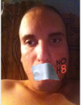 Joshua Trevino - Uploaded by NOH8 Campaign for iPhone