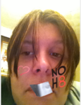 Becky Forster - Uploaded by NOH8 Campaign for iPhone