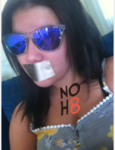 Taylor Fittler - Uploaded by NOH8 Campaign for iPhone