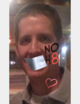 Justin Thacker - Uploaded by NOH8 Campaign for iPhone