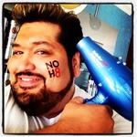 Clark Russell - After my NoH8 shoot in San Francisco