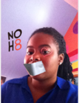 Zaria Reed - Uploaded by NOH8 Campaign for iPhone
