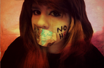 Deni Lance - To every friend and stranger ever put down for being gay...every person who was forced to leave a school or any where ,because of hate, I will support NOH8, always <3 because its only right.