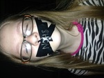 Susan Davis - This is my daughter in her own version of NOH8 !!!