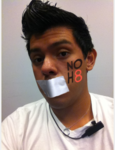 Jerome Perez - Uploaded by NOH8 Campaign for iPhone