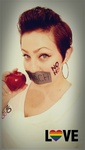 Dannielle Vosburgh - NOH8 in my STR8