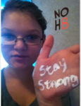 Bri Ogle - Uploaded by NOH8 Campaign for iPhone