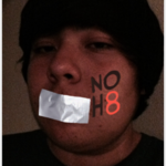Andy Gonzalez - Uploaded by NOH8 Campaign for iPhone