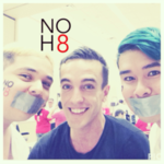 Manny Garcia - Uploaded by NOH8 Campaign for iPhone