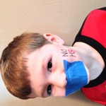 Brittany Snyder - My 5 year old son Lucas showing his support.