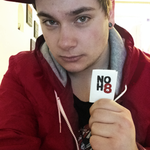 Mitja Curman - Supporting equal rights /w @NOH8Campaign
