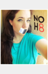 Laura Harmon - Uploaded by NOH8 Campaign for iPhone