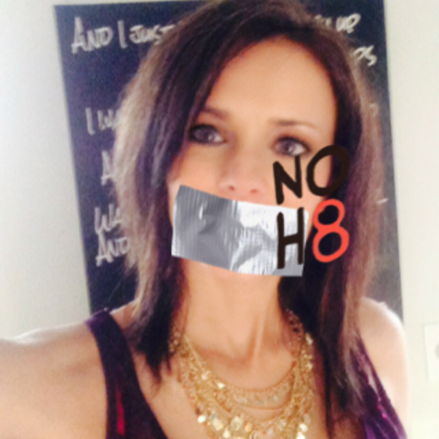 Alicia  Donovan  - Uploaded by NOH8 Campaign for iPhone