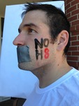 Matthew Gregory - In an effort to spread awareness and support across campus, I am proud to show off NOH8!