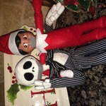 Trish  Espinoza  - Floyd the Elf and Jack Skellington are against bullying!