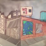 daniela schwiep - my new ''no h8 painting '' really hope u guys like it , ooh btw its not all the way done just though i should give u guys a peek ;)