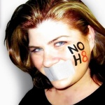 Julie Richards - Everyone is equal.  No H8. Love is love.