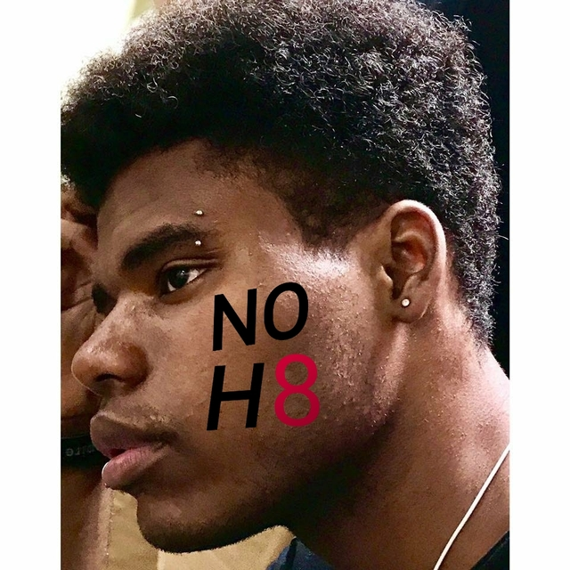Kaayvon Graham - Even in the worse parts in you're life you are still a beautiful person. No matter what people say about you you are still an amazing person. Always love yourself for who you are because who you are is amazing. #NOH8 #NOH8Compaign