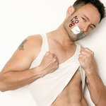Alcides Munoz - My self portrait for the NOH8 Campaign