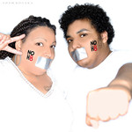 Chef  Shiane - For my 40th birthday (May 25) and my son's 15th birthday (May 21) we decided to do the NOH8 shoot together. This was my 3rd time volunteering. It was such an emotional moment for me because my son was just 7 years old when I came out. He had always been supportive and understanding in secret. But as he got older, he has been more and more vocal about his mother being gay and even stood up for a gay kid in class a year ago. He is empathetic and has so much compassion in his heart. I am so proud of him for being the wonderful young man that he is.