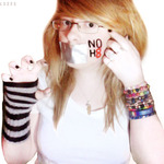 Soph O'Keefe - My quick attempt at a NOH8 picture :) I would love a real one but this will have to do for now :D I'm 100% behind NOH8 :) being a big fan of Adam Lambert this is something i'm very passionate about :D <3