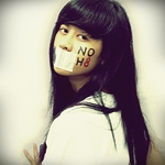 Reyfanny Febriana - Support NOH8 Campaign. Xoxo. Ps, I'm from Indonesia