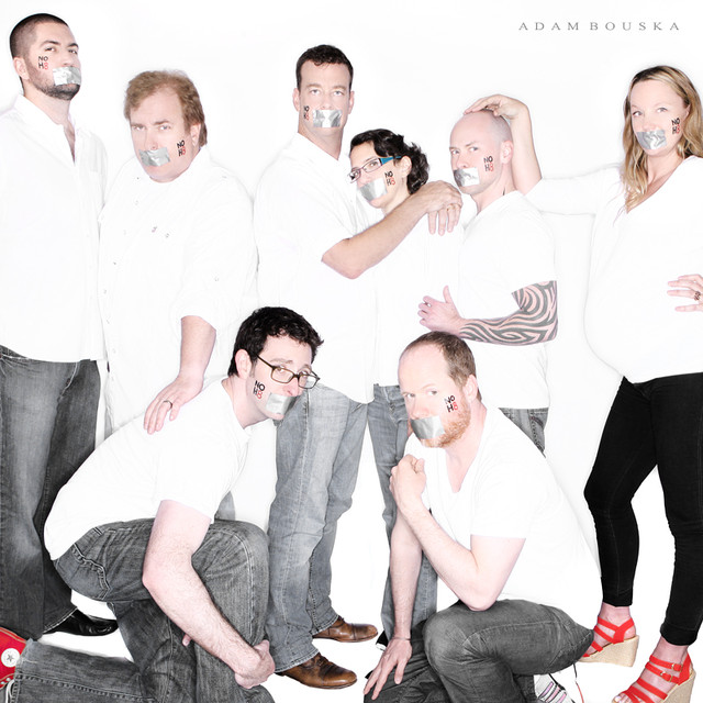 Buffy The Vampire Slayer Writer's Room NOH8 Photo