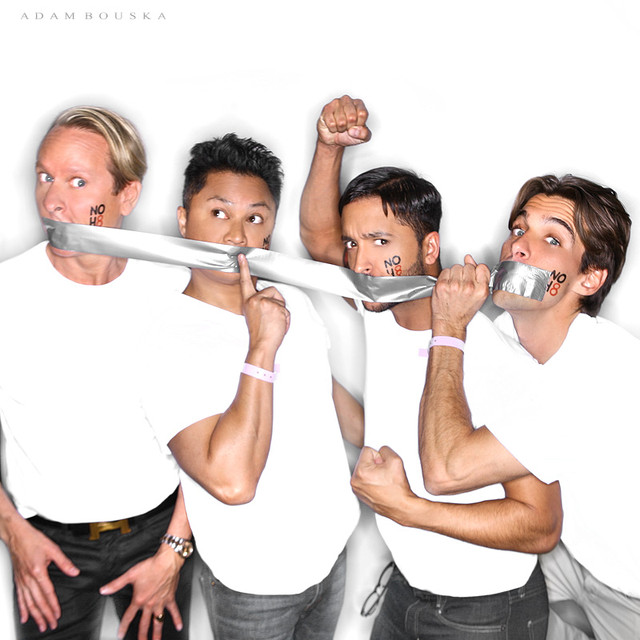 Carson Kressley, Alec Mapa, Jai Rodriguez and Madison Hildebrand