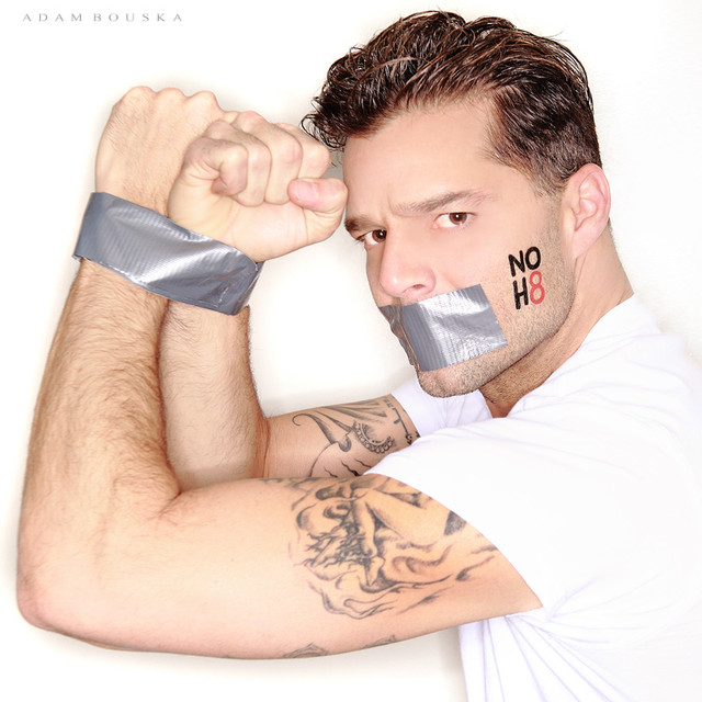 Celebrities Showing Love For NOH8 Campaign - Katlin Mastandrea ...