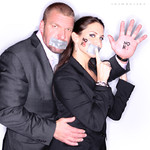 "Paul ""Triple H"" Levesque & Stephanie McMahon"